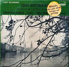 BOCCHERINI Six Flute Sonatas Stokes Karp ORION 75173 LP SEALED