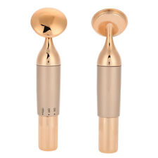 Gold Facial Massager Pulse Roller Face Eye Lift Skin Care Anti-aging Wrinkle Too