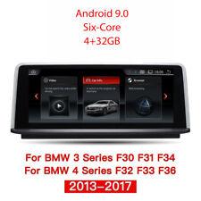 """BMW F30 F31 F34 F32 F33 F36 10.25"""" Autoradio Android 9.0 6-Core 4GB RAM GPS Navi"""
