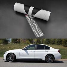 2x Carbon Fiber Side Skirt Sill Stripe M Performance Sticker For BMW F30 M-Sport