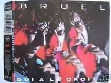 PATRICK BRUEL QUI A LE DROIT MAXI CD