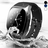 RWATCH M26 BLUETOOTH MONTRE CONNECTÉE smartphone iPhone Android podomètre noire