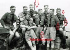 ✘(273) Org.Foto Pimpf,Jugend,JV,HJ,DJ,Youth,Boy,Gruppe,Kurze Hose,Fahrtenmesser✘