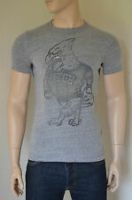 NEW Abercrombie & Fitch Rocky Falls Grey American Eagle Destroyed Tee T-Shirt XL