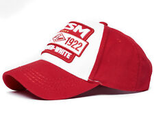 """FC Spartak Moscow cap hat """"FCSM born red white"""", UEFA, red/white"""