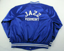 AUGUSTA SPORTSWEAR Blue Velva Sheen Satin Band Jacket JAZZ VERMONT Adult Medium