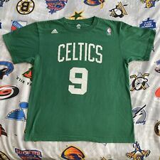 Rajon Rondo #9 Boston Celtics Adidas Jersey T-Shirt Green NBA Men's Large