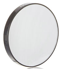 Tweezerman Black Round 12x Magnifying/Magnification Portable Travel Mirror
