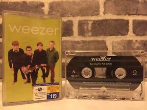 Weezer (Green) Cassette Tape (Geffen Records 2001)