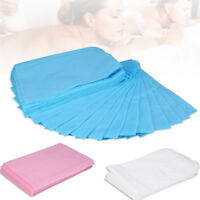 10Pcs Sheet Disposable Non-Woven Paper Table Bed Cover Waterproof 175 x 75cm JS