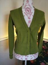 Linear Women's Cardigan olive Green Formal medium