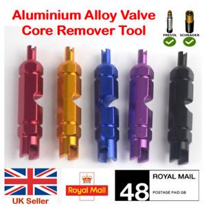 Valve Core Wrench Presta Schrader For Bike MTB Car Tire Core Remover Aluminum