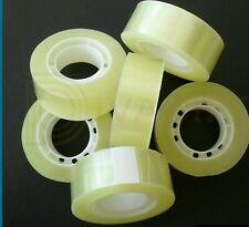 FREE UK POST 10 x  Sellotape Superclear Tape 18mm x 10m Lot *CHEAPEST ON