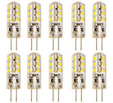 LED G4 10x Set 2W Lampe Leuchtmittel Glühbirne Warmweiß Stiftsockel Energiespar