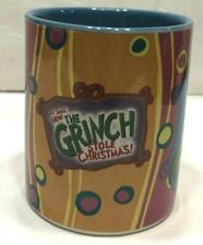 Dr. Seuss How The Grinch Stole Christmas Mug Cup Holiday Colorful Ceramic