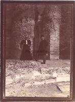 Roma Italia Fotografia di viaggio amatoriale in 1898 Vintage citrato