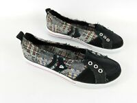 DVS Slip On Leather And Distressed Fabric Trainers Uk 5 Eu 37 New