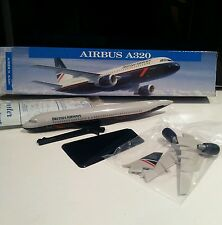 Wooster British Airways Landor Airbus A320 plastic model plane avion