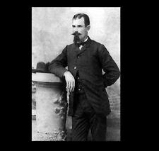 Rare 1877 Jesse James PHOTO Quantrill's Raiders Wild West Outlaw, James Gang