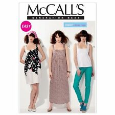 McCall's Patterns M6560 Misses' Top and Dresses, Size A5 (6-8-10-12-14)