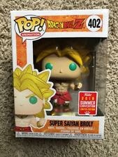 FUNKO POP DRAGONBALL Z SUPER SAIYAN BROLY SDCC 2018 SHARED CONVENTION EXCLUSIVE