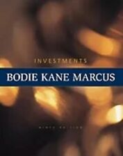 Investments (9th edition) Hardcover Zvi Bodie, Bodie, Alan Marcus and Alex Kane