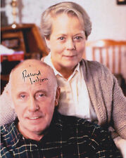 Richard Wilson HAND SIGNED 10x8 Photo Autograph, One Foot In The Grave, Merlin F