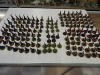 Games Workshop Lord of The Rings painted Elves x 165 plastic figures