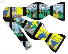 """Golfing Bow tie / Comic Strip """"Pickles"""" Playing Golf / Self-tie Bow tie"""