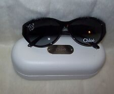Chloe Cat-Eye Sunglasses Black CL2260 NEW