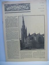 Magazine. The Ringing World. 31st October, 1980. no. 3627.  Church Bell Ringers