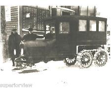 Dodge Ski Truck Dodge Snow Skiis on Truck Bus Tractor Wheels Calumet MI 1926