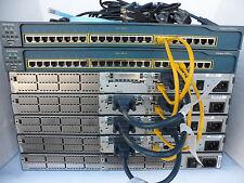 Cisco CCNA CCNP CCENT Study Lab 4 x 2620 Fastethernt 3620 2950-24 CCNAFEPILE2
