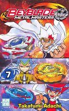 BEYBLADE METAL MASTERS tome 7 Adachi METAL FUSION manga shonen