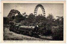 Treni - Locomotore - viaggiata all'estero nel 1930