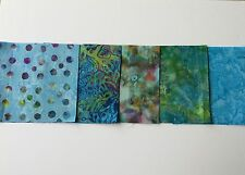 Batik Tessuto Fat Quarter Bundle in Blu