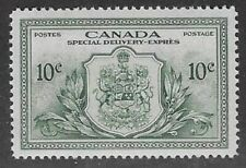 Canada, Peace Issue Special Delivery 1946 10¢ Green  Sc #E11, VF, PR/OG - dw59.9