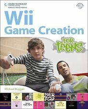 Wii Game Creation for Teens (For Teens (Course Technology))-ExLibrary