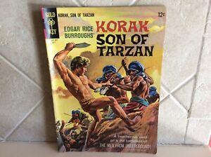 Korak Son of Tarzan No. 9 July 1965 Comic Book (Edgar Rice Burroughs') Gold Key