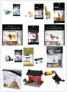 Nanoblocks Mini Collection - Animals, Instruments Micro Building Blocks