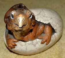 Vintage Hatch Protoceratops Dinosaurs Egg Collectible Figurine By Peña 1986