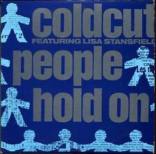 COLDCUT FEAT. LISA STANSFIELD - PEOPLE HOLD ON - FRENCH CARDBOARD SLEEVE CD MAXI