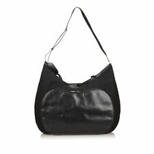 125-4 Gucci Black Fabric Extra Large Weekend Travel Bag