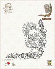Nellie's Choice Clear stamps Little Lammy Christmas decoration SCLOLA003