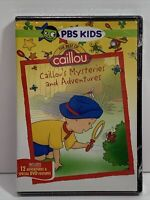 The Best of Caillou: Caillous Mysteries and Adventures (DVD, 2012)