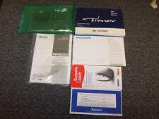 2001 Hyundai Tiburon Coupe Owner Owner's Operator User Guide Manual Set SE 2.0L