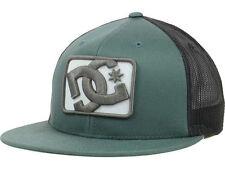DC SHOES GREEN BLACK PASSPORT TRUCKER THE CLASSICS BY YUPOONG SNAPBACK HAT CAP