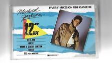 """Michael Jackson - The 12"""" Tape - CBS Super Sound Cassette Epic 450127-4 - 1986"""