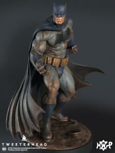 Batman Dark Knight Maquette Statue -The Muddy Edition Tweeterhead - In stock now