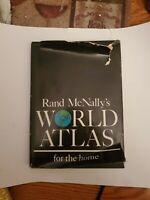 1965 Home Edition Rand McNally World Atlas